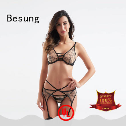 Besung buckle fantasy lingerie China supplier for wife