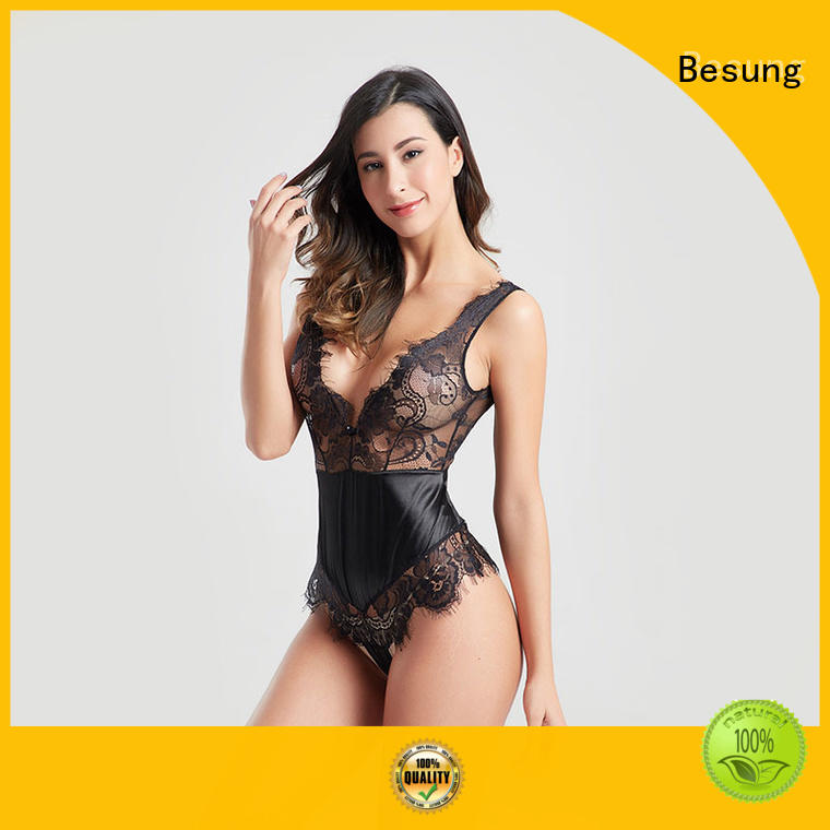 low price nude lace bodysuit elegant at discount for women