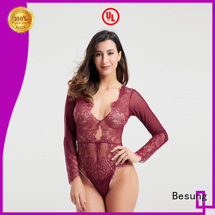 sexy bodysuits women transparent for hotel Besung