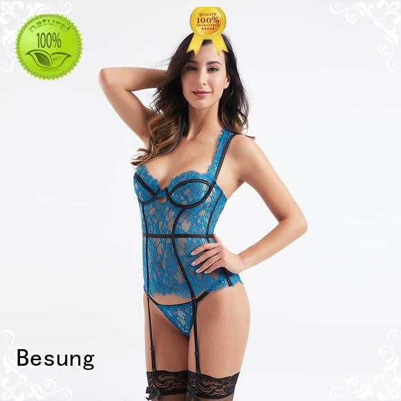 Besung custom corset bustier free design for hotel