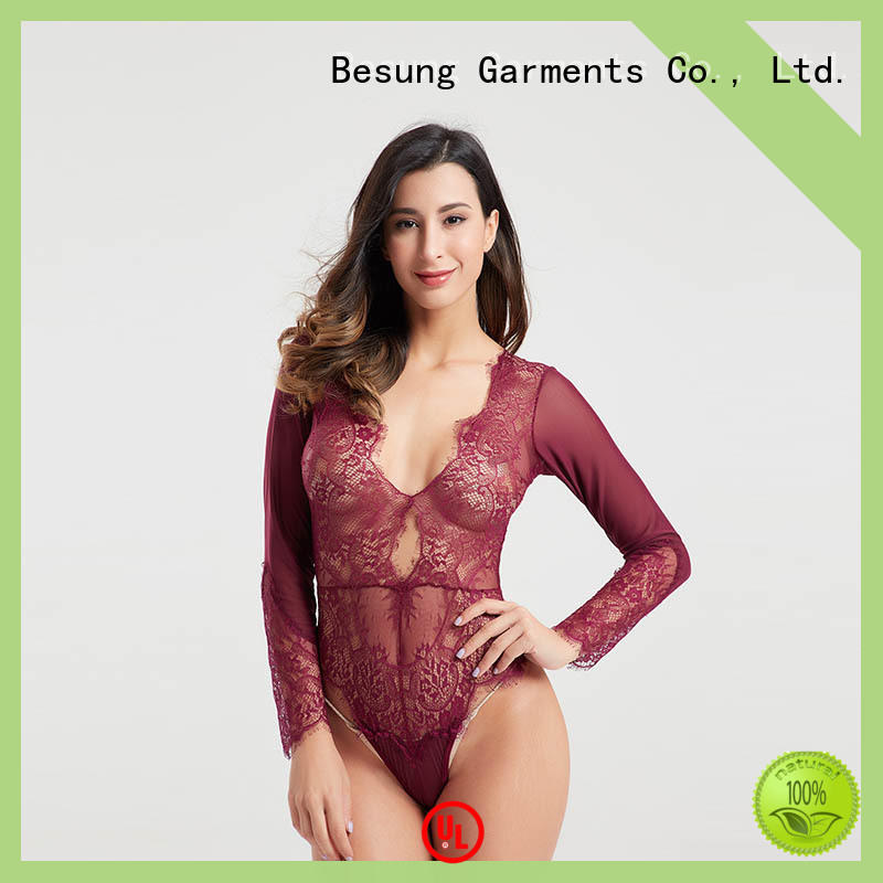 Besung style strappy bodysuit from manufacturer for hotel