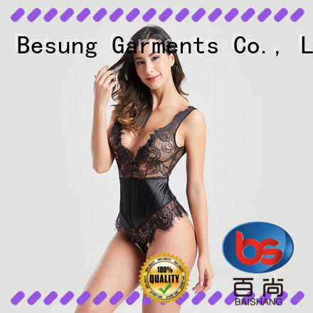 Besung long plus size lace bodysuit buy now for wife