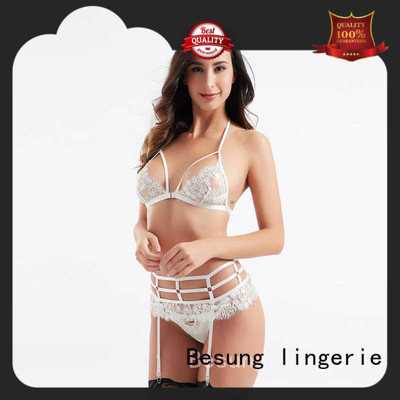 Besung transparent lace lingerie free design for wife
