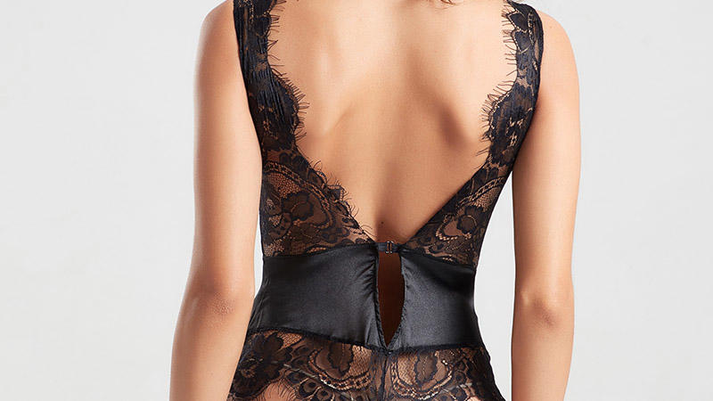 Besung hot-selling sheer bodysuit wholesale for women