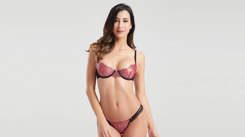Besung threepiece lingerie sets free design for home-4