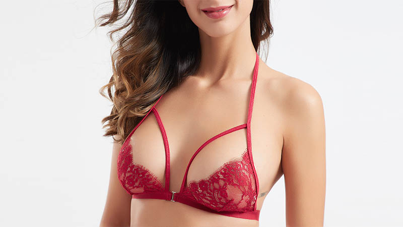 Besung contrast valentines lingerie bulk production for home-4