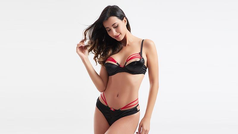 unique crotchless lingerie bra bulk production for home
