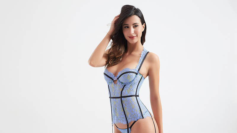 simple design bustier corset decorative buy now for women-4