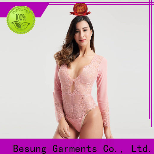 Besung hang white lingerie bodysuit factory for home