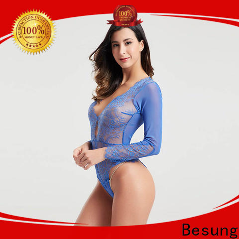 Besung new-arrival black corset bodysuit factory for home