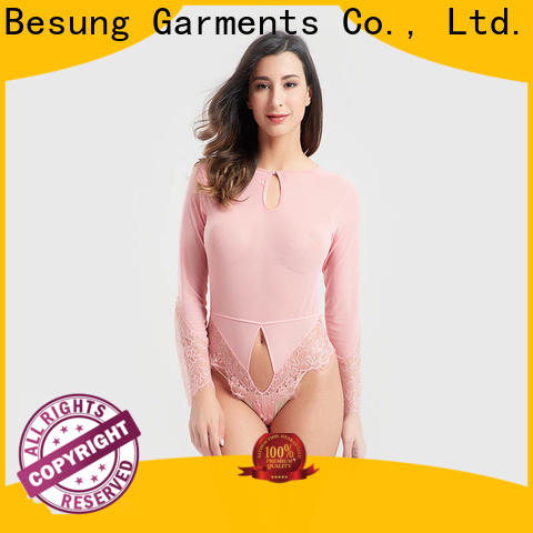 Besung sale black and white bodysuit from manufacturer for women