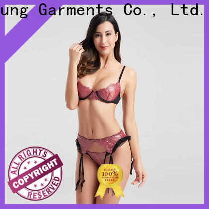low price wedding lingerie twopiece China supplier for wife