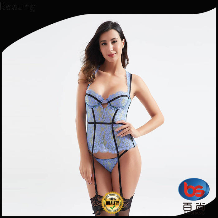 Besung fine-quality corset bra underwear for home