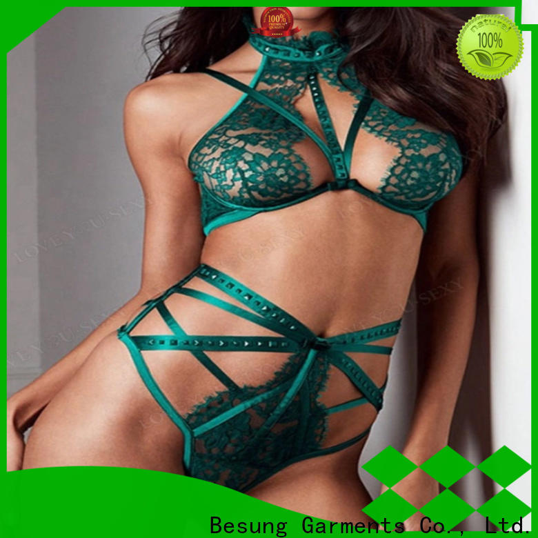 Besung wholesale lingerie sets lace for home
