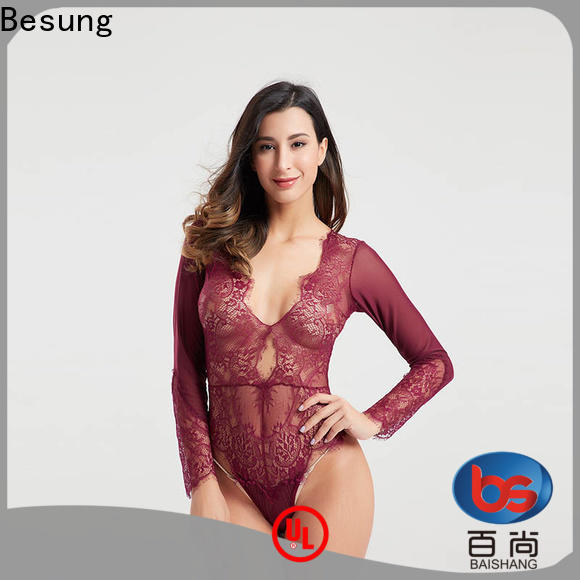 Besung eyelash going out bodysuits from manufacturer for home