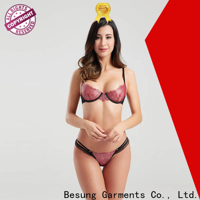Besung centre wedding lingerie factory price for women