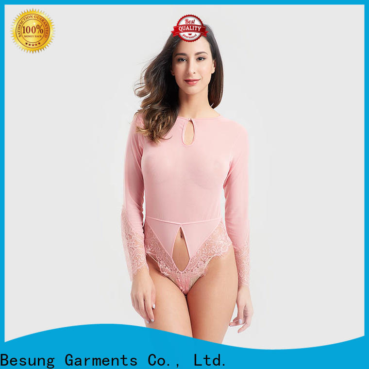 Besung dot lingerie romper for wholesale for wife