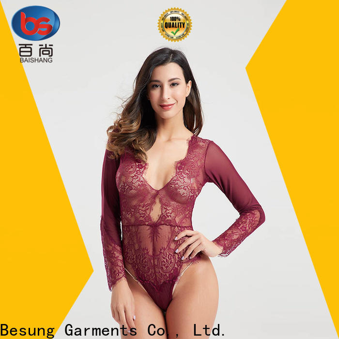 backless white teddy shaped factory for women