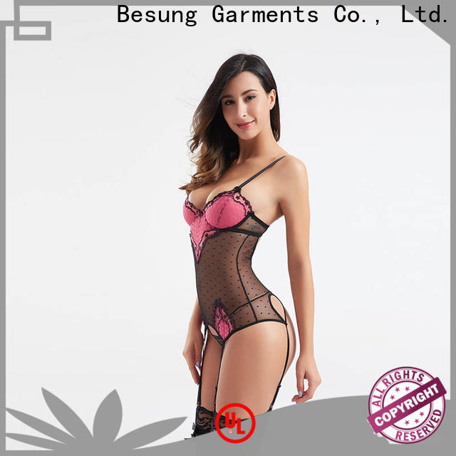 Besung low price sexy bodysuits for women production for women