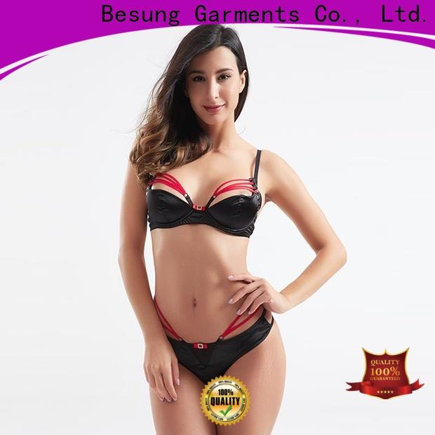 Besung low price sexy lingerie bulk production for hotel