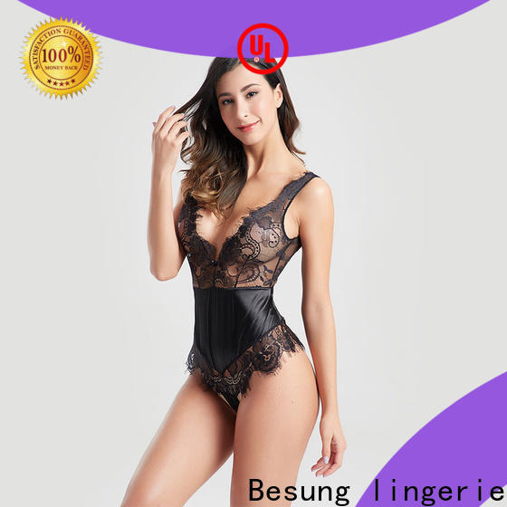 Besung purple party bodysuits factory for wife