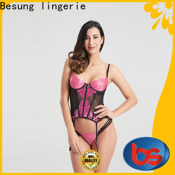Besung custom push up corset wholesale for wife