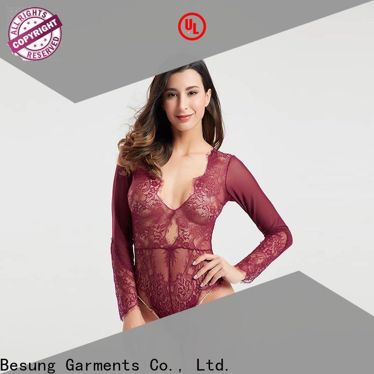 Besung backless female bodysuit wholesale for women