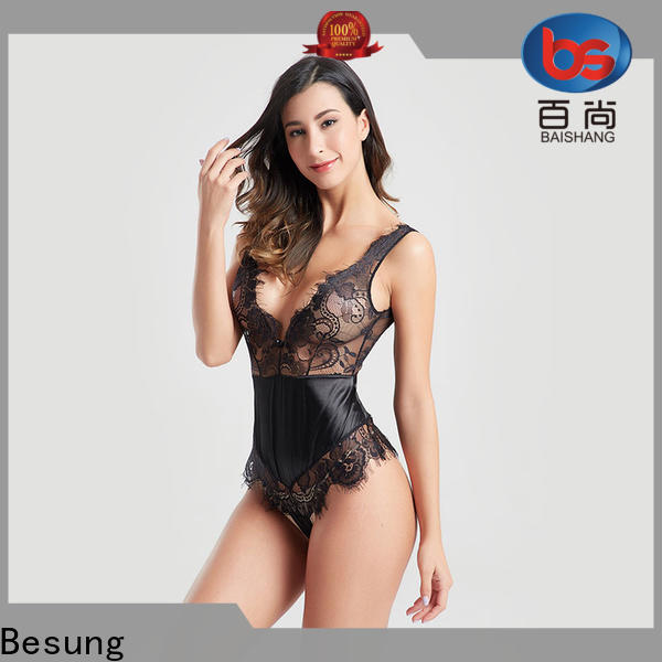 Besung first-rate black bodysuit outfit check now for home