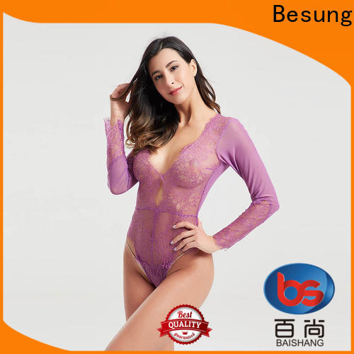 Besung newest black body suits wholesale for home