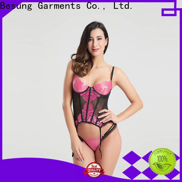 Besung custom corset set at discount for home