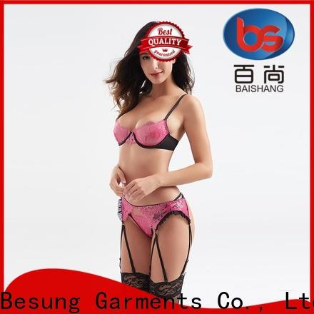 Besung classical sexy red lingerie factory price for lover
