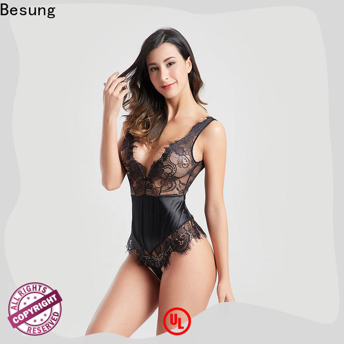 Besung bottom black lace body free design for lover