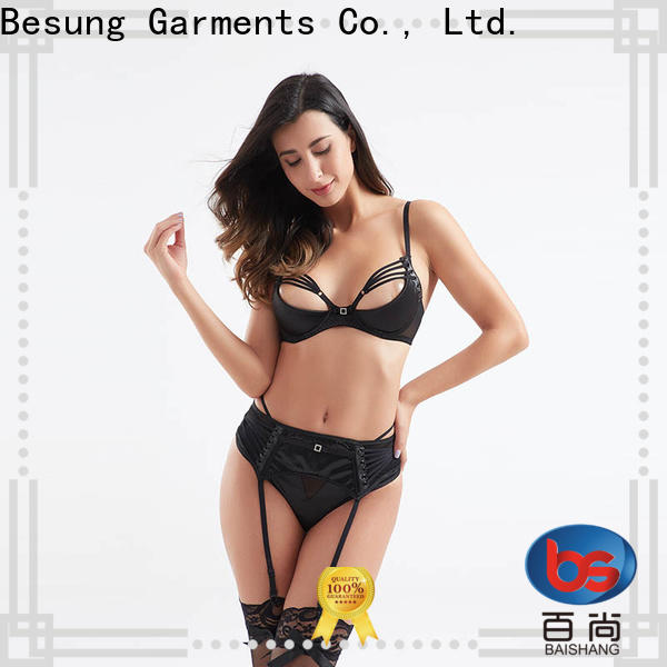 Besung sexy lace lingerie factory price for wife