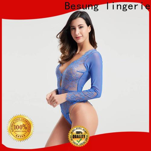 low price black lingerie bodysuit buckle buy now for women