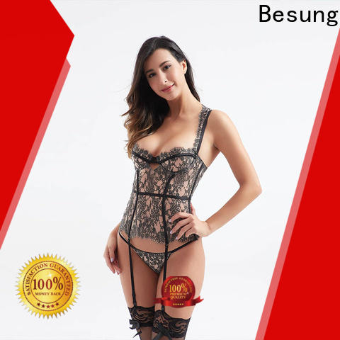 Besung oem lace corset sale for wife