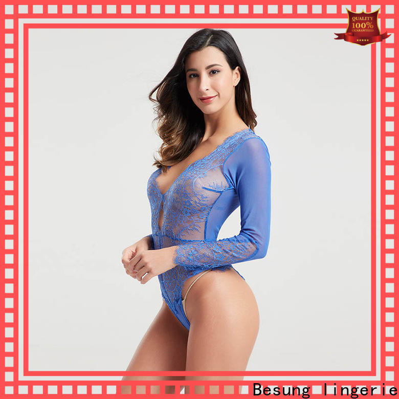 hot-selling red lace bodysuit long sleeve sale buy now for wife