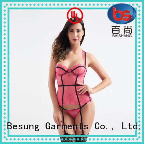 Besung new-arrival steel boned corset underwear for lover