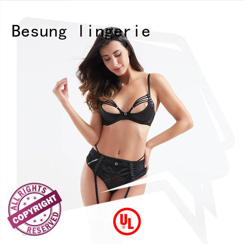 Besung leopard silk lingerie for Home for home