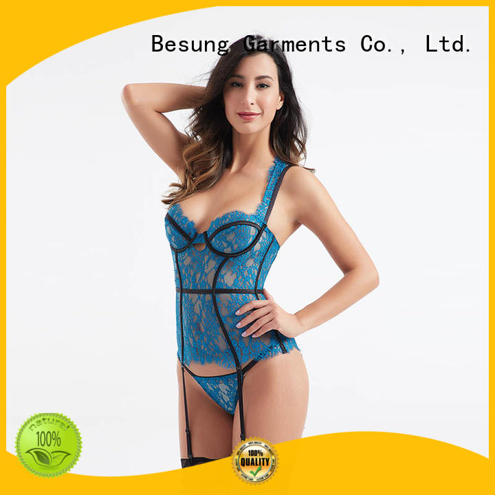 Besung best sexy corset factory price for hotel