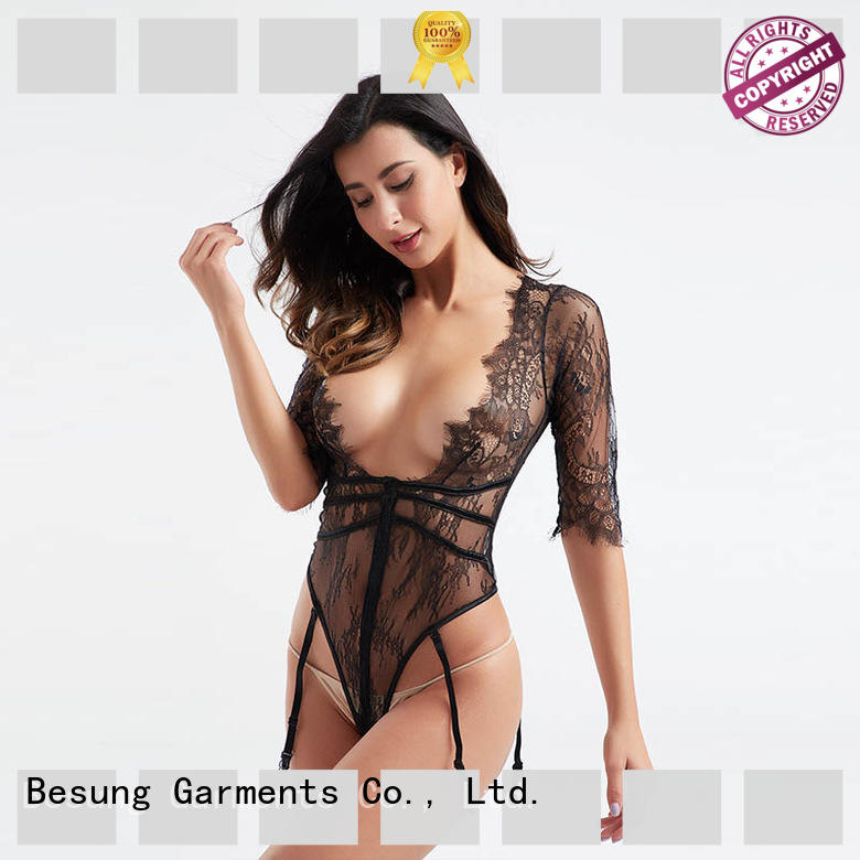 lace plus size lace bodysuit out for lover Besung