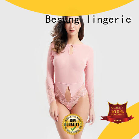 Besung top backless bodysuit for wholesale for home