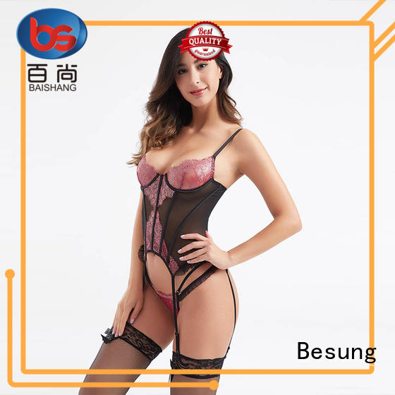 Besung odm steel boned corset wholesale for home
