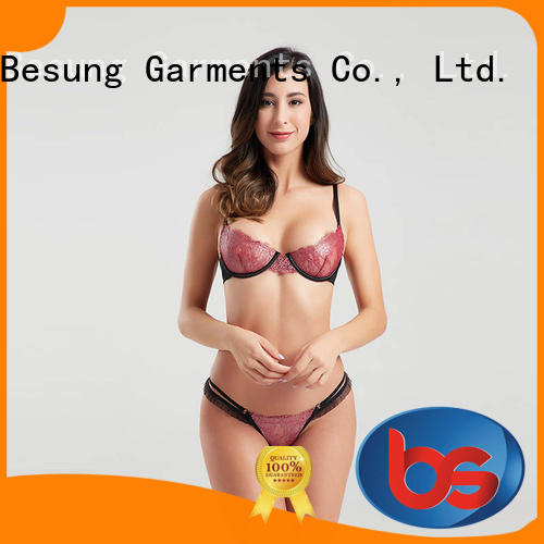 Besung bulk cute lingerie free design for lover