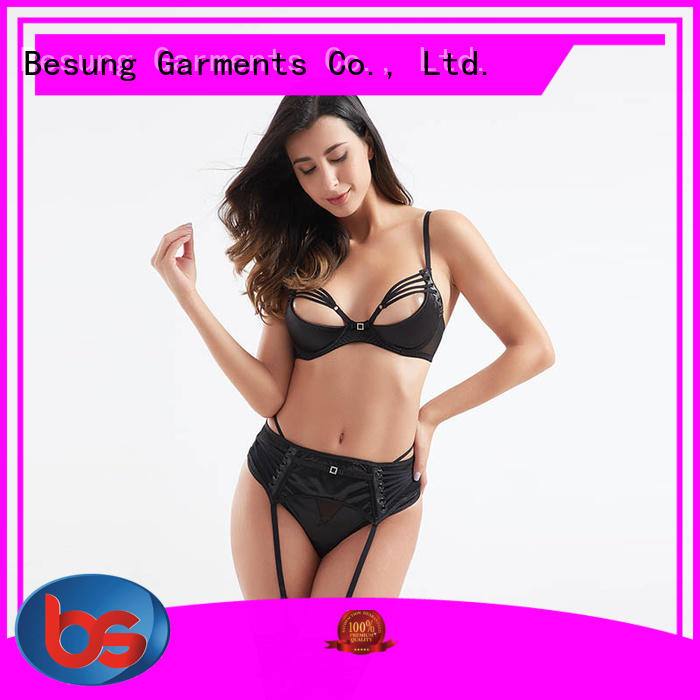 Besung unique silk lingerie factory price for lover