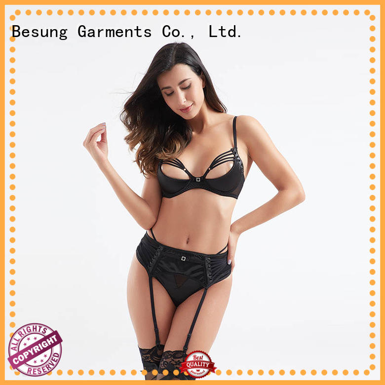 Besung low cost sexiest lingerie design for hotel