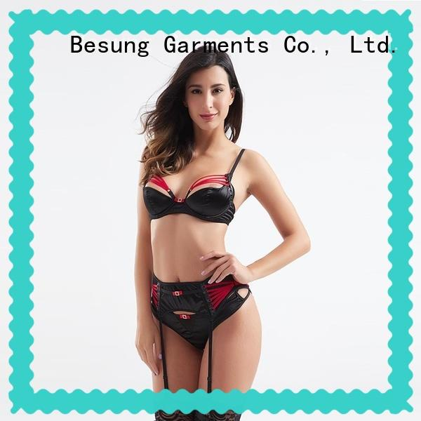 Besung cute lingerie transparent for wife
