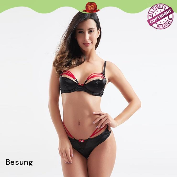 Besung transparent luxury lingerie lingerie for wife
