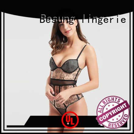 Besung simple design lace corset free design for lover