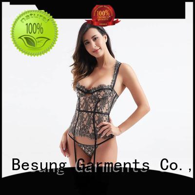 rose bustier corset lingerie underwear for women