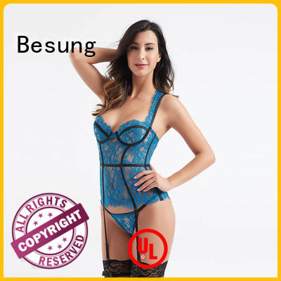 simple design bustier top quality underwear for lover